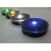 Flashing Solar Delineator Embedded Traffic Lane Road Markers 10 Years Service Life Manufactures