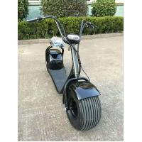 F / R V Brake Electric Motorcycle Bike 60V 1000W E - Scooter For Park Road Manufactures