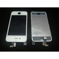 White Touch screen Digitizer LCD Assembly for IPhone 4 Manufactures