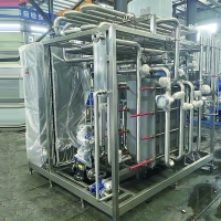 Strict design and easy operation 500l - 20T/H small milk pasteurization machine Manufactures