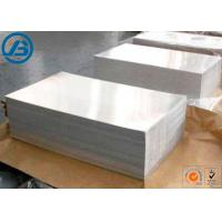 610 x 914mm x 1-13mm Magnesium Alloy Strongest Metal For Etching Engraving Manufactures