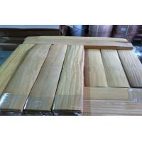 Natural Wood Flooring Veneer Yellowish Brown , Engineered Wooden Flooring Manufactures