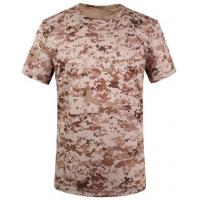 Camouflage desert t-shirts army T-shirt military T-shirt Round Collar/POLO Manufactures
