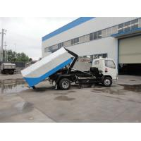Factory sale best price CLW brand 4cbm hydraulic lifting mini garbage truck, high quality and best price garbage truck Manufactures