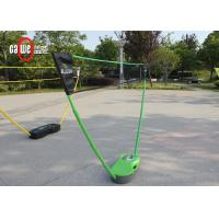 2 Set Poles Free Standing Badminton Set , Badminton Easy Set With Plastic Box Manufactures