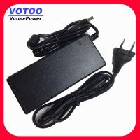 CCTV AC - DC Desktop Switching Power Supply , LED 72W 12V 6A Adapter Manufactures