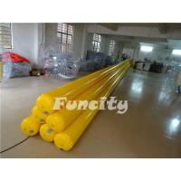 Yellow Inflatable Water Toys Inflatable Water Tube / Water Buoys / Water Enclosure Manufactures