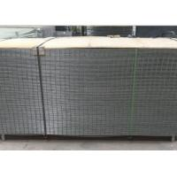4X4 Electro Galvanized Welded Wire Fence Panels For Buliding , Wear Resistant Manufactures