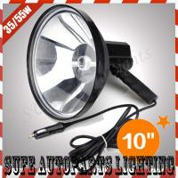 10'' 12v 55w HID handheld Search Light outdoor working Boat Hunting Offroad HID Light Manufactures