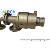 High Temperature Hydraulic Rotary Union 300psi hot oil quick machine coupling pipes Manufactures