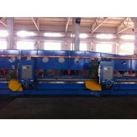Automatic Edge Groove Milling Machine Double Head For Shipbuilding Manufactures