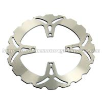 High Strength Motorcycle Wavy Brake Discs For Racing Street Bike Manufactures