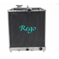 1992 - 2000 HONDA CIVIC Aluminum Auto Car Radiators High Performance Pressure Tested Manufactures