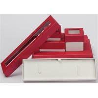 Rings Earrings Paper Jewelry Box Case Cardboard Handmade Custom Logo Color Manufactures