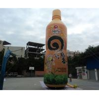 Customized Inflatable Bottle Model for Production Promotion