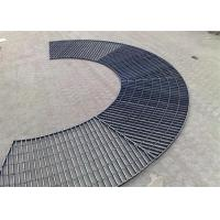 Xh Serrated Galvanized Steel Grating Stainless304/316 Steel Anti - Corrosive Manufactures