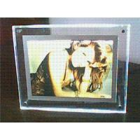 Transparent Contemporary Photo Frames , Supermarket Acrylic Holder Display Manufactures