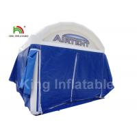Buy cheap UV Proof Blue Advertising Inflatable Event Tent Commercial Grade Customized Size from wholesalers
