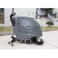 Wireless Battery Powered Scrubber Dryer Floor Cleaner High Efficiency Fast Cleaning Manufactures