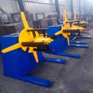 Prepainted Galvanized Steel Decoiler Auto Coiler Machine 3 + 3kw 380V Manufactures