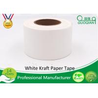 China White Waterproof Gummed Self Adhesive Kraft Paper Tape Water Activated Tape on sale