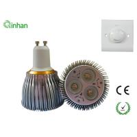MR16 / GU10 / E27 6W 30 / 60 degree AC110V dimmable LED Spotlight QH-GU10DS-2W3-1 Manufactures