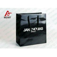 Colored Paper Retail Shopping Bags Recycled  Feature Brand Printing Manufactures