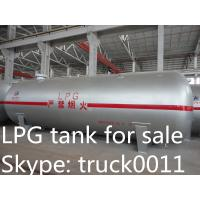 factory direct price CLW brand 25tons lpg tank for sale, ASME standard 25metric tons lpg gas storage tank for sale Manufactures