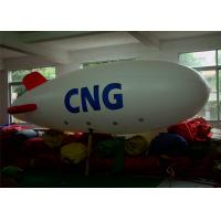 0.2m PVC Helium Airship Inflatable Advertising Balloons With 6m Long Manufactures