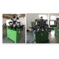 Rotating CNC Spring Forming MachineFor Flat Wire Spring / Compression Spring Manufactures