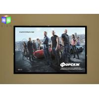 Large A0 Magnetic LED Poster Light Box , Movie Theater Poster Display Case Manufactures