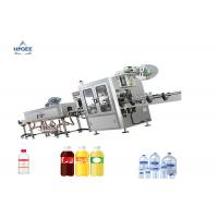 Shrink Sleeve Wine Bottle Filling Capping And Labeling Machine Double Head Manufactures