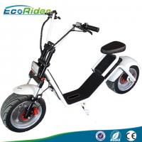 EcoRider 1200W 50KM Range 2 Wheel Electric Scooter with Front Suspension for Adult Manufactures