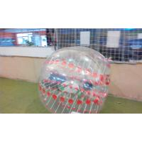 1.2m Clear Pink  Inflatable Sports Games Soccer Ball For Advertising Manufactures