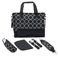Environmental Multi Function Yummy Mummy Bag With Polyester Surface Fabric Manufactures
