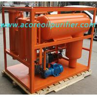 Quality Turbine Oil Filtration Equipment with Varnish Removal System,Oil Dehydration for sale