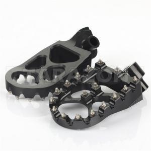 Suzuki Aluminum Dirt Bike Foot Pegs Anti Slip Control Motocross Footpegs With High Grip Manufactures