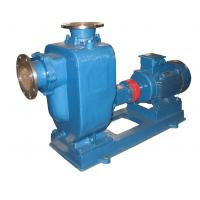 ZW horizontal electric centrifugal waste water pump industrial sewage self priming pump Manufactures