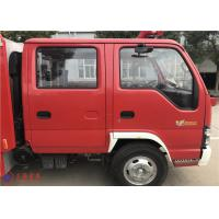 4X2 Drive Four Stroke Water Cooling Fire Service Truck With 3360mm Wheelbase 105km/H Manufactures