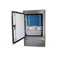 Ground Cross Connect Cabinet Stainless Steel Fiber Optic Equipment Max. 144 Cores Manufactures