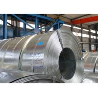 China Q195 Hot Dip Galvanized Steel Strip Thickness 2.0mm / 2.5mm 3 - 8 Ton Weight on sale