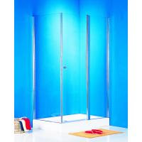 Bathroom Pivot Shower Bath Enclosure , 6mm Glass Rectangular Shower Cubicles Manufactures