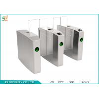 CE Passed Automated Speed Gates, Access Entrance Control Turnstile Solutions Manufactures