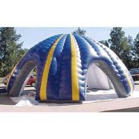 Double - Line Three Synchronization Sewed Inflatable Yard Tent For Shadowing Manufactures