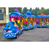 Buy cheap Amusement Park Tourist Train Rides Electric Ride On Train For Kids CE Approved from wholesalers