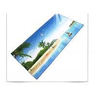 Buy cheap Quick Drying Microfiber Beach Towel , Sports Beach Towels With Square Shaped from wholesalers
