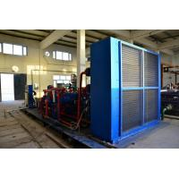 Mechanical Reciprocating CNG Mother Station , Gas / Diesel Engine CNG Compressor Manufactures