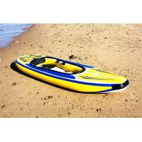 Customized Banana Style PVC Inflatable Boat In Outdoor For Kids And Adults Manufactures