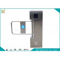 High Security Stainless Steel  Swing Barrier Gate  IR Sensor Remote Control Manufactures