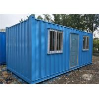 China Labor Camp Storage Container Homes , Mining Camp Sea Containers House on sale